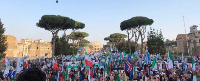 Roma, una giornata di protesta contro questa Europa. Un dissenso pacifico