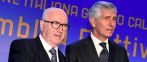 Il padrone del pallone resta Tavecchio: Abodi si ferma al 46%