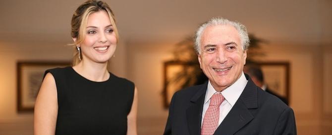 «Ci sono i fantasmi!». E il presidente brasiliano Temer lascia il palazzo