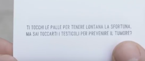#Tocchiamoci: lo spot della Fondazione Veronesi è già virale (VIDEO)