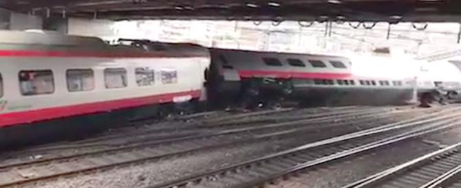 Treno deragliato a Lucerna sulla tratta Milano-Basilea: panico e tre feriti