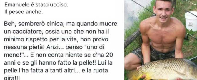 Alatri, sciacallaggio dei vegani su Emanuele: «È morto anche il pesce»