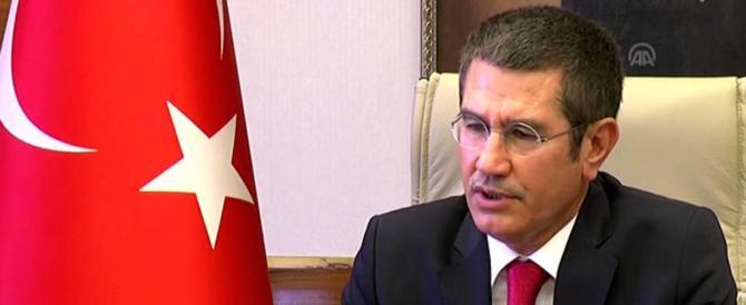 Vicepremier turco faccia di bronzo: accusa Paesi europei di crimini contro l'umanità