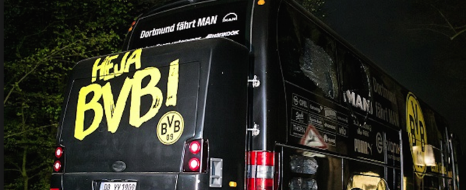 Attentato a Dortmund, c'è un arresto per l'attacco al bus del Borussia