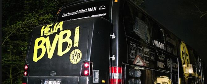 Bombe contro il bus del Borussia: i sospettati sono un iracheno e un tedesco
