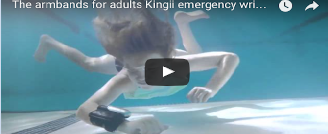 Un braccialetto ti salva la vita: ecco il dispositivo anti annegamento (Video)