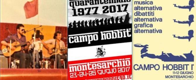 """""""Campo Hobbit 40 anni dopo"""": il programma della tre giorni"""