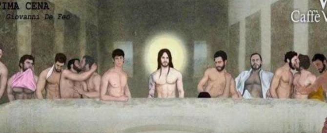 """""""L'ultima cena"""" di Cristo rifatta in versione gay: esplode la polemica"""