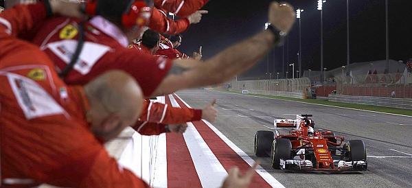 """Pasqua con vittoria per la Ferrari di Vettel. Marchionne: """"È l'anno buono"""""""