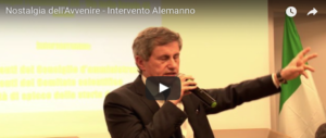 """Nostalgia dell'avvenire"", l'intervento di Gianni Alemanno (video)"