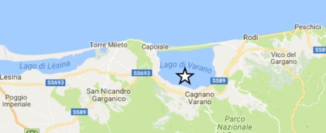 Terremoto sul Gargano, scossa 3.9, tanta paura ma nessun danno
