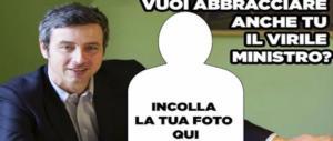 """""""Il virile Orlando"""", gli sfottò al ministro diventano un tormentone su Fb (foto)"""