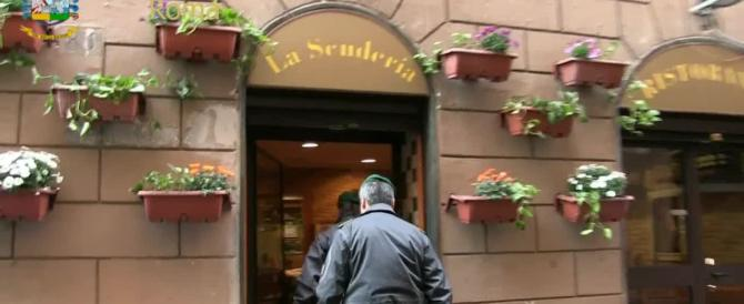 Pregiudicato 70enne campano gestiva i più noti ristoranti di Roma: sequestrati