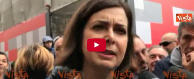 """Boldrini: """"I fascisti su Facebook sono un pericolo, vanno puniti"""" (VIDEO)"""