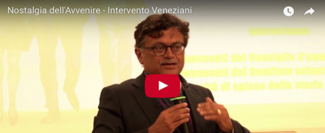 """Nostalgia dell'avvenire"", l'intervento di Marcello Veneziani (video)"