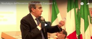 """""""Nostalgia dell'avvenire"""", l'intervento di Maurizio Gasparri (video)"""