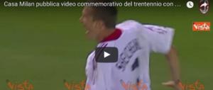 Milan, le immagini dei 31 anni con Berlusconi presidente (VIDEO)