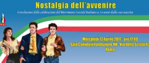 Fondazione An, oggi l'evento conclusivo della mostra sui 70 anni del Msi