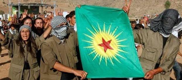 Erdogan accusa l'Occidente: avete armato i terroristi curdi del Pkk