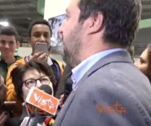 Salvini consiglia di leggere la Fallaci: «Ragazzi, non ve ne pentirete» (video)