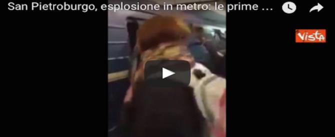 Russia, attentato in metro a San Pietroburgo: 10 morti. Corpi sulle banchine (video)