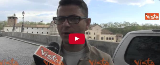 Pronostici e scaramanzia dei romani alla vigilia del derby di Coppa Italia (video)