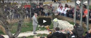 Dopo Amatrice, il viaggio in Italia di Carlo e Camilla fa tappa a Firenze e… (video)
