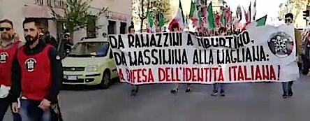 Clandestini, prosegue la mobilitazione di CasaPound, oggi in corteo a Roma
