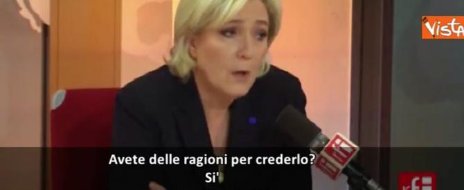 Marine Le Pen: in Francia ci saranno altri attentati prima del voto (video)
