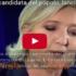 """Marine Le Pen: """"Io sono la candidata del popolo"""". Record di voti per il FN (video)"""
