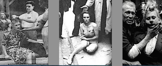 Rasatura dei capelli, atto ignobile: lo fecero i partigiani alle ausiliarie Rsi
