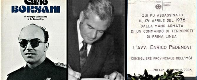 Oggi Milano ricorda anche i ragazzi di Salò Carlo Borsani ed Enrico Pedenovi