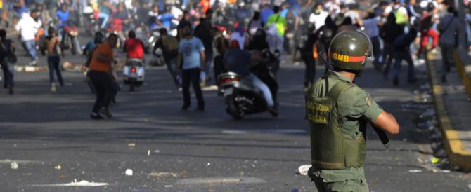 Venezuela, decine di vittime nelle proteste contro il regime socialista