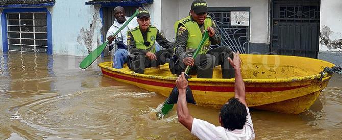 Ecatombe in Colombia: oltre cento travolti dal fango di tre fiumi