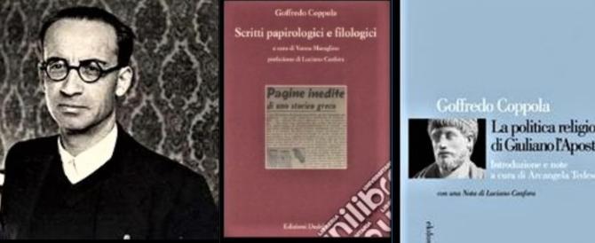 Goffredo Coppola, fascista e insigne papirologo, esposto a piazzale Loreto