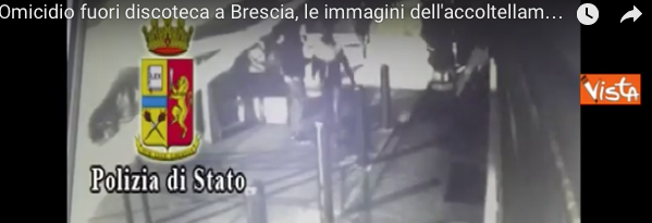 Omicidio in discoteca: le immagini dell'accoltellamento (VIDEO)