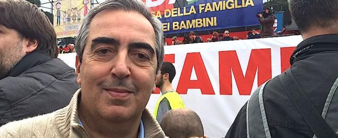"""Gasparri: """"Ora basta, si dovrà dimettere il magistrato che vuol fare politica"""""""