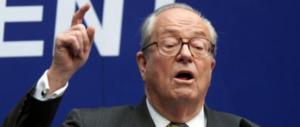 Jean-Marie Le Pen torna fan della figlia: al ballottaggio i compagni voteranno lei
