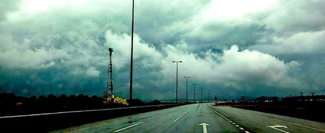 Torna il maltempo, forti precipitazioni sull'Italia occidentale, è allerta gialla