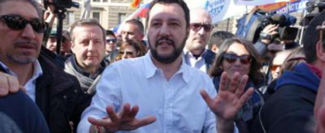 """Salvini annuncia l'Aventino leghista: """"Per 7 giorni fuori dal Parlamento"""""""