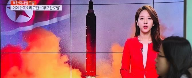 Ciccio Kim festeggia i 100 giorni di Trump con l'ennesimo lancio di missili