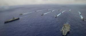 Navi americane verso la Corea del Nord, che minaccia la bomba atomica