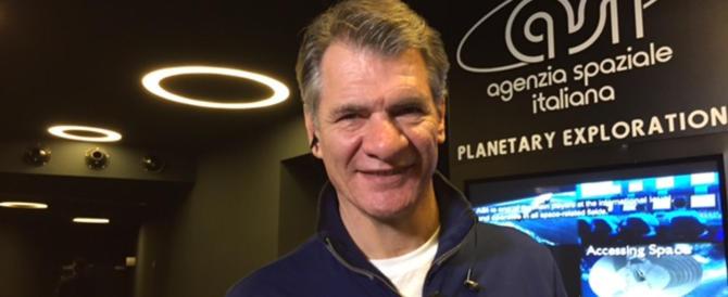 Giallo alla convention grillina: è scomparso l'astronauta Nespoli