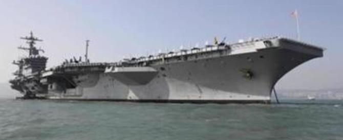 La Corea del Nord minaccia gli Usa: «Affonderemo la portaerei Vinson»