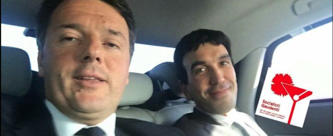 Il virile ministro Orlando? Renzi gli ruba la scena con i Socialisti gaudenti (video)