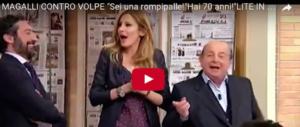 Magalli e Adriana Volpe, è lite in tv. E su Facebook lo scontro è duro (video)