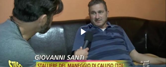 Lo stalliere racconta a Striscia le torture: «…E ora non vivo più» (video)