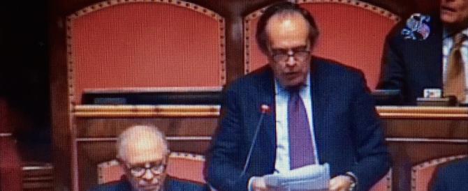 Senato, Torrisi replica ad Alfano: «Io espulso? Roba da Unione Sovietica»
