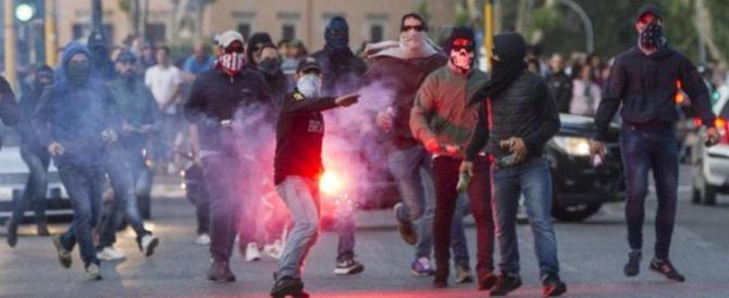 Guerra tra tifosi in autogrill, ultrà del Milan tenta di accoltellare un napoletano