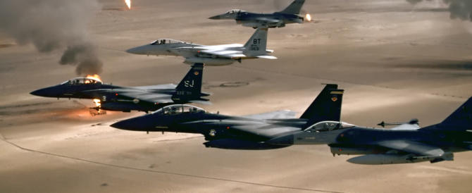 Mosul, ancora bombe Usa sui civili: almeno 13 morti, ma nessuno protesta